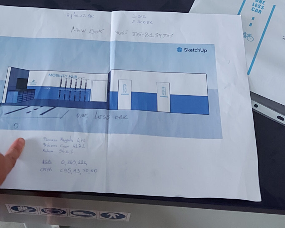 Progetto mobility hub Shimano